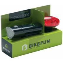 Bikefun Link elemes kerékpár lámpa szett