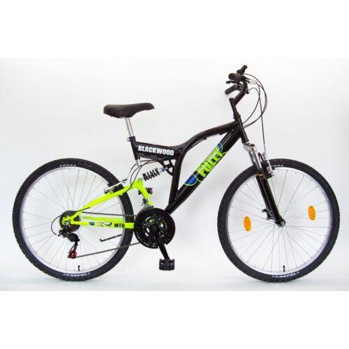 """Schwinn Csepel Blackwood Fully 18 sebességes férfi mountain bike 26"""" 2018"""