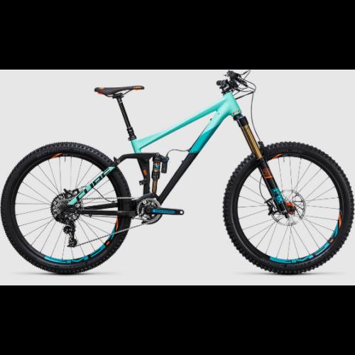 "Cube Fritzz 180 HPA SL Férfi 27,5 Mountain bike 27,5"" 2017"