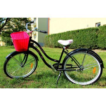 King Cruiser kerékpár Fekete-Pink