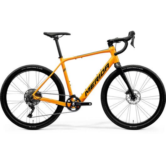 MERIDA kerékpár 2021 eSILEX+ 600 NARANCS (FEKETE)