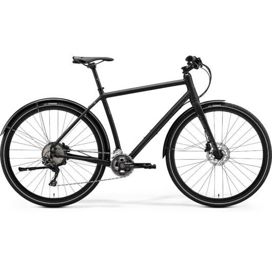 MERIDA kerékpár 2020 CROSSWAY URBAN XT-EDITION MATT FEKETE (FÉNYES SÖTÉT EZÜST)