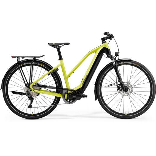 MERIDA kerékpár 2021 eSPRESSO 500 EQ NŐI (47L) SELYEM LIME/FEKETE