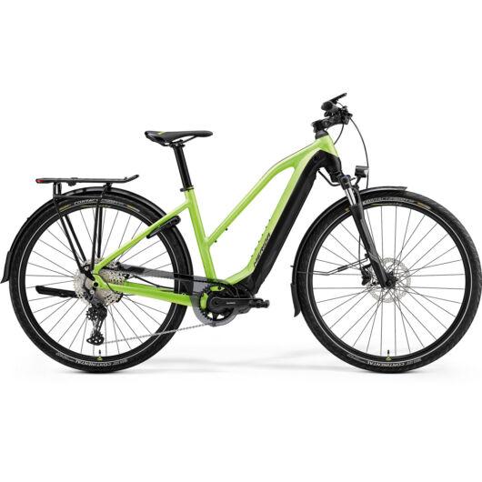 MERIDA kerékpár 2021 eSPRESSO 600 EQ NŐI (47L) MATT ZÖLD/FEKETE