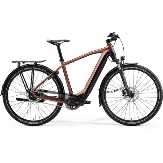 MERIDA kerékpár 2021 eSPRESSO 700 EQ SELYEM BRONZ/FEKETE