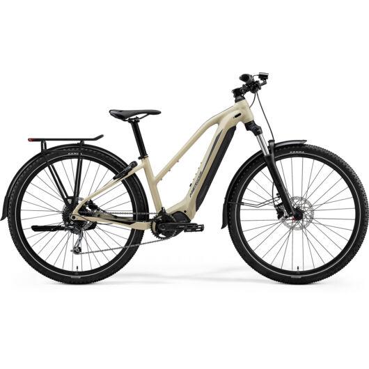 MERIDA kerékpár 2021 eBIG TOUR 400 EQ SELYEM HOMOK(FEKETE)