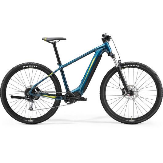 MERIDA kerékpár 2021 eBIG NINE 400 ZÖLDESKÉK-KÉK(LIME)