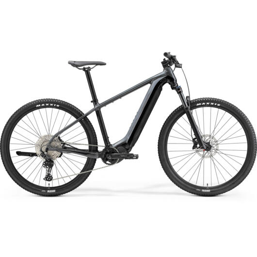 MERIDA kerékpár 2021 eBIG NINE 600 SZÜRKE/FEKETE