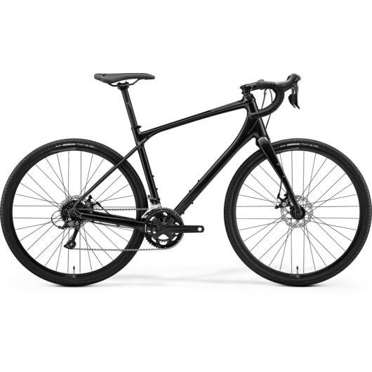 MERIDA kerékpár 2021 SILEX 200 FÉNYES FEKETE(MATT FEKETE)
