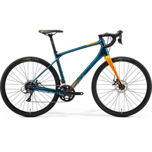 MERIDA kerékpár 2021 SILEX 200 ZÖLDESKÉK-KÉK(GOLD)