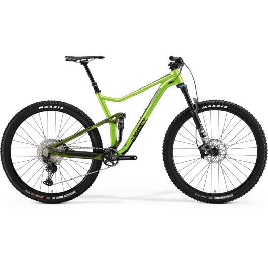 MERIDA kerékpár 2021 ONE-TWENTY 700 (20.5) ZÖLD/SÖTÉTZÖLD