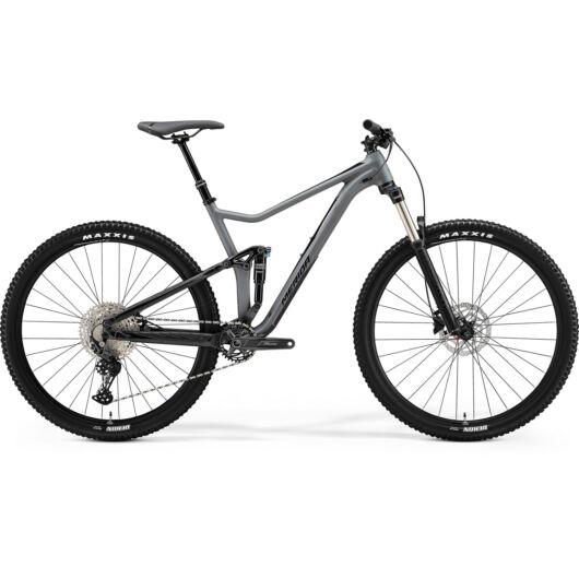 MERIDA kerékpár MATT SZÜRKE/FÉNYES FEKETE