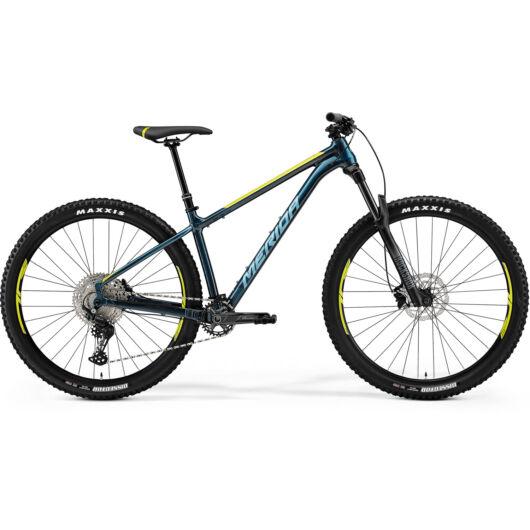 MERIDA kerékpár 2021 BIG TRAIL 500 ZÖLDESKÉK-KÉK(LIME/EZÜST-KÉK)