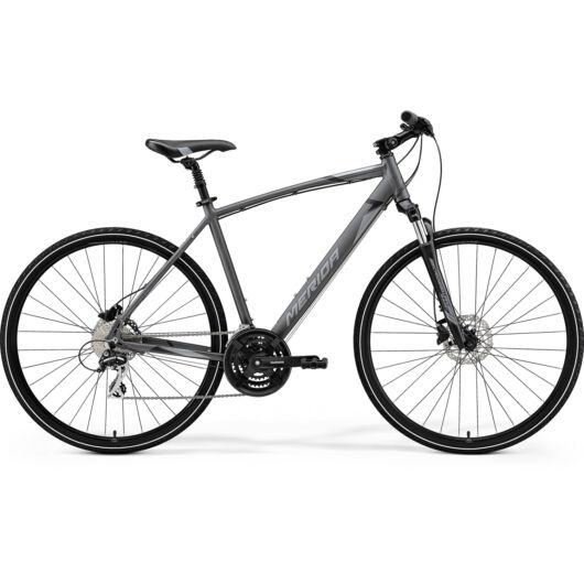 MERIDA kerékpár 2021 CROSSWAY 20 ANTRACIT(SZÜRKE/FEKETE) L (55)
