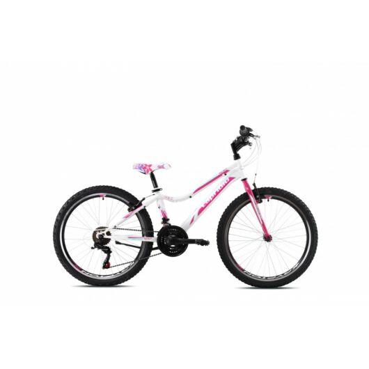 """Capriolo Diavolo DX 400 24"""" gyerek kerékpár Fehér"""