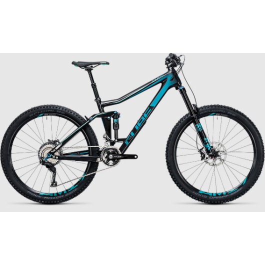 """Cube Stereo 160 C:62 Race Férfi Mountain bike 27,5"""" 2017"""