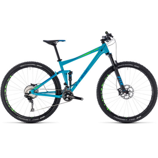 "Cube Stereo 120 Race férfi mountain bike 27,5"" 2018"