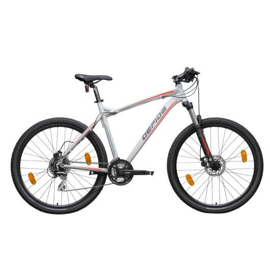 Gepida MUNDO PRO 27,5'' Férfi Mountain Bike Kerékpár 2020 Matt satupad szürke 30200040-17A
