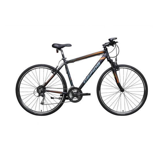 Gepida ALBOIN  300CRS 28'' Férfi Cross Kerékpár 2020 Matt fekete 302002 30-48A