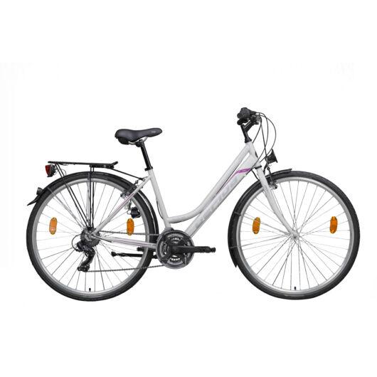 Gepida ALBOIN 100 28'' Női Trekking Kerékpár 2020 Fehér 30200 306-46A