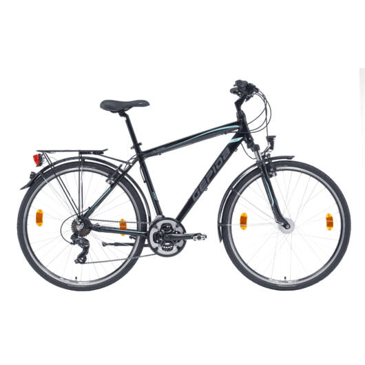 Gepida ALBOIN 200 28'' Női Trekking Kerékpár 2020 Fekete 30200 310-52A