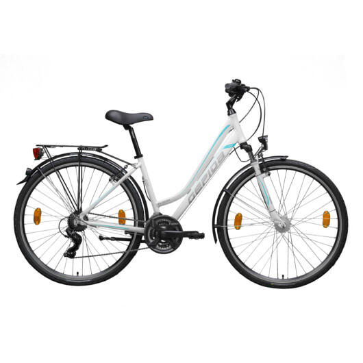 Gepida ALBOIN 200 28'' Női Trekking Kerékpár 2020 Fehér 30200 316-48B