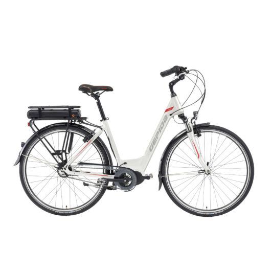 Gepida CRISIA 28'' Női Pedelec Kerékpár 2020 Hodij gyöngyfehér 302009 35-46A