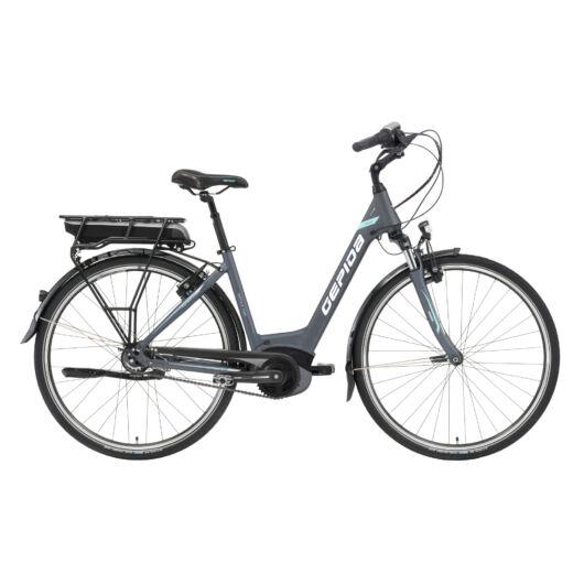 Gepida REPTILA 1000 28'' Női Pedelec Kerékpár 2020 Grafit 30201985-46A