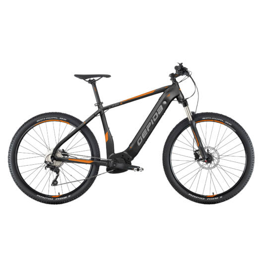 Gepida RUGA PRO 29'' Férfi Mountain Bike Kerékpár 2020 Fekete 302020 30-17A