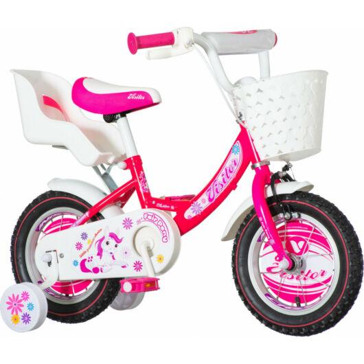 KPC Pony 12 pónis rózsaszín gyerek kerékpár