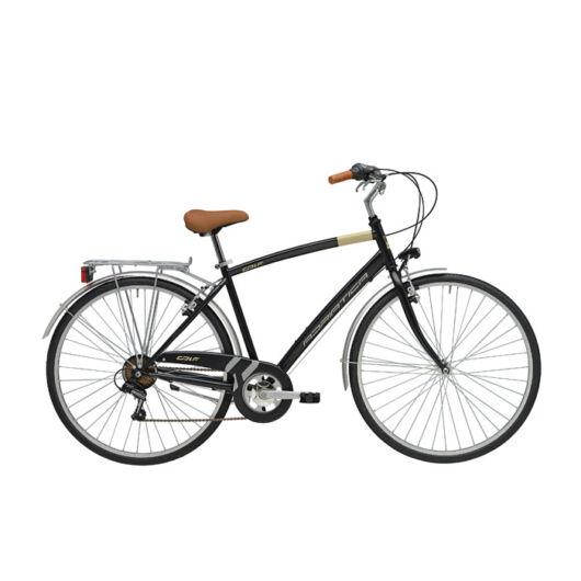 """BGOL18N01UY/NO Adriatica AD Trend 6s 28"""" 6 Sebességes férfi városi kerékpár 2018 fekete"""