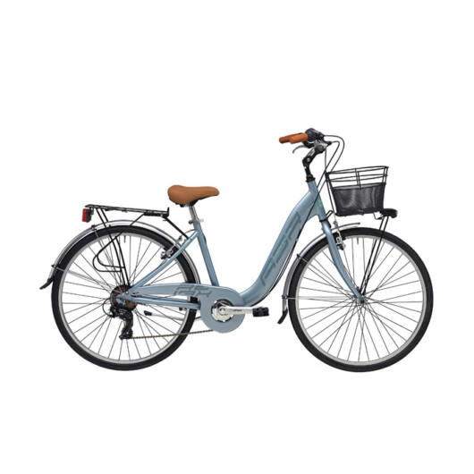 """BREL18N01DY/G Adriatica AD Relax 6s 28"""" 6 Sebességes női városi kerékpár 2018 szürke"""