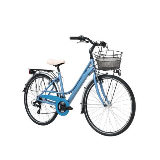 """BSIT17N03DY/AZ Adriatica AD Sity 3 700C 18s 28"""" 6 Sebességes női városi kerékpár 2018 kék"""