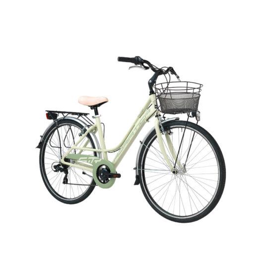 """BSIT17N03DY/V Adriatica AD Sity 3 700C 18s 28"""" 6 Sebességes női városi kerékpár 2018 zöld"""