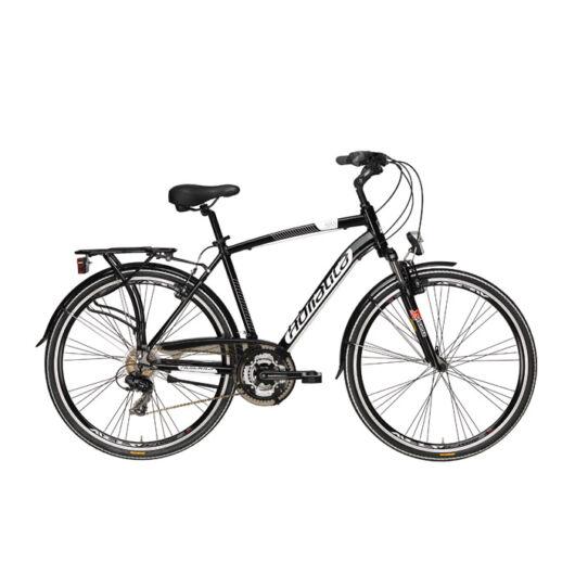 """BSIT17N05UZZ/N Adriatica AD Sity 2 700C 21s 28"""" 7 Sebességes férfi városi kerékpár 2018 fekete"""