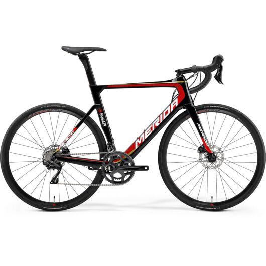 """90938-19 Merida REACTO DISC 4000 28"""" férfi országúti kerékpár 2019  fekete(team replika)"""