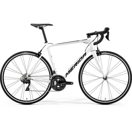 """81524-19 Merida SCULTURA 400 28"""" férfi országúti kerékpár 2019 fehér(fekete)"""