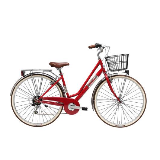 """BPUN19N01DY/R Adriatica AD Panarea 6s 28"""" 6 Sebességes női városi kerékpár 2018 piros"""
