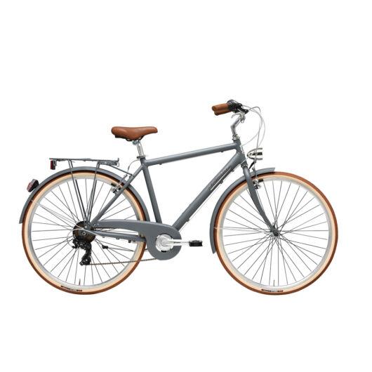 """BSIT18N010UY/G Adriatica AD Retro 6s 28"""" 6 Sebességes férfi városi kerékpár 2018 szürke"""