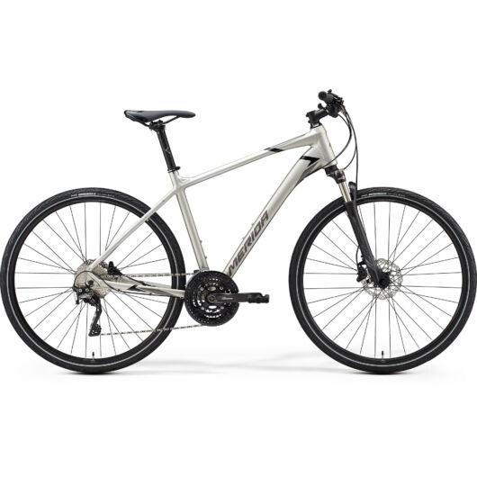 """35304-20 Merida crossway 600 28"""" férfi cross trekking kerékpár 2020 titán(fényes fekete/szürke)"""