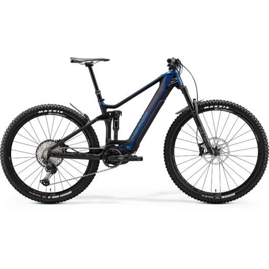"""27775-20 Merida eONE-FORTY 8000 29"""" férfi pedelec kerékpár 2020 fényes óceánkék/matt fekete"""
