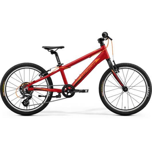 """42976-20 Merida MATTS J.20 20"""" 7 sebességes gyerek kerékpár  2020 selyem bordó(narancs)"""