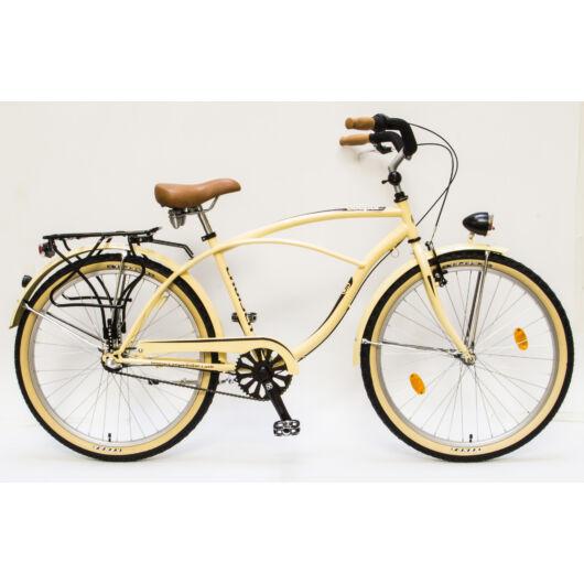 """Schwinn Csepel CRUISER NEO 26"""" 3 Sebességes Férfi városi kerékpár 2016 krémbarna 93604303OO"""