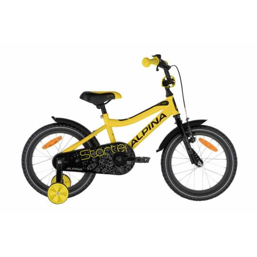"""Alpina STARTER sárga 16"""" Gyerek Kerékpár 2020"""